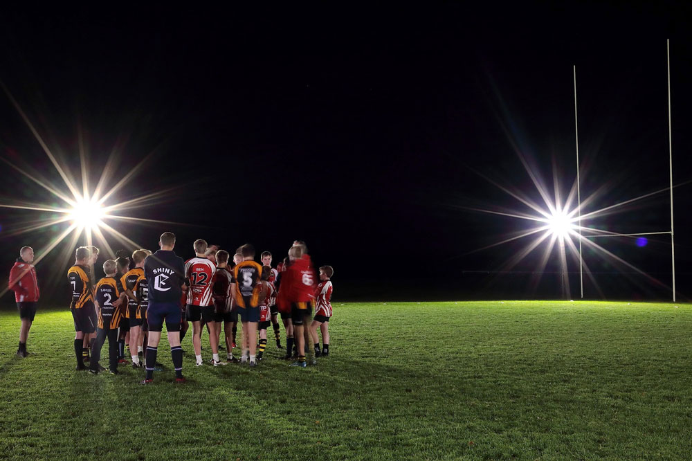 Battery Powered FloodLight - Rugby
