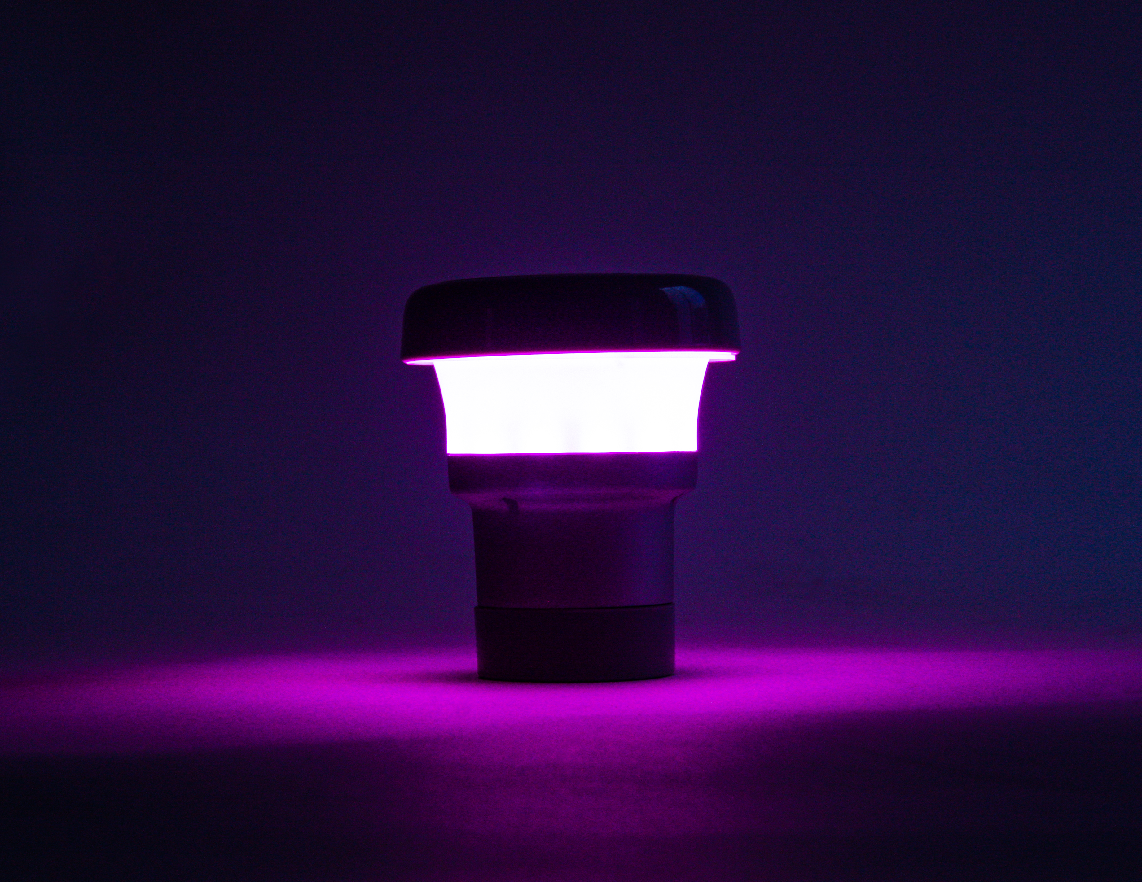 battery operated, LED table lamp