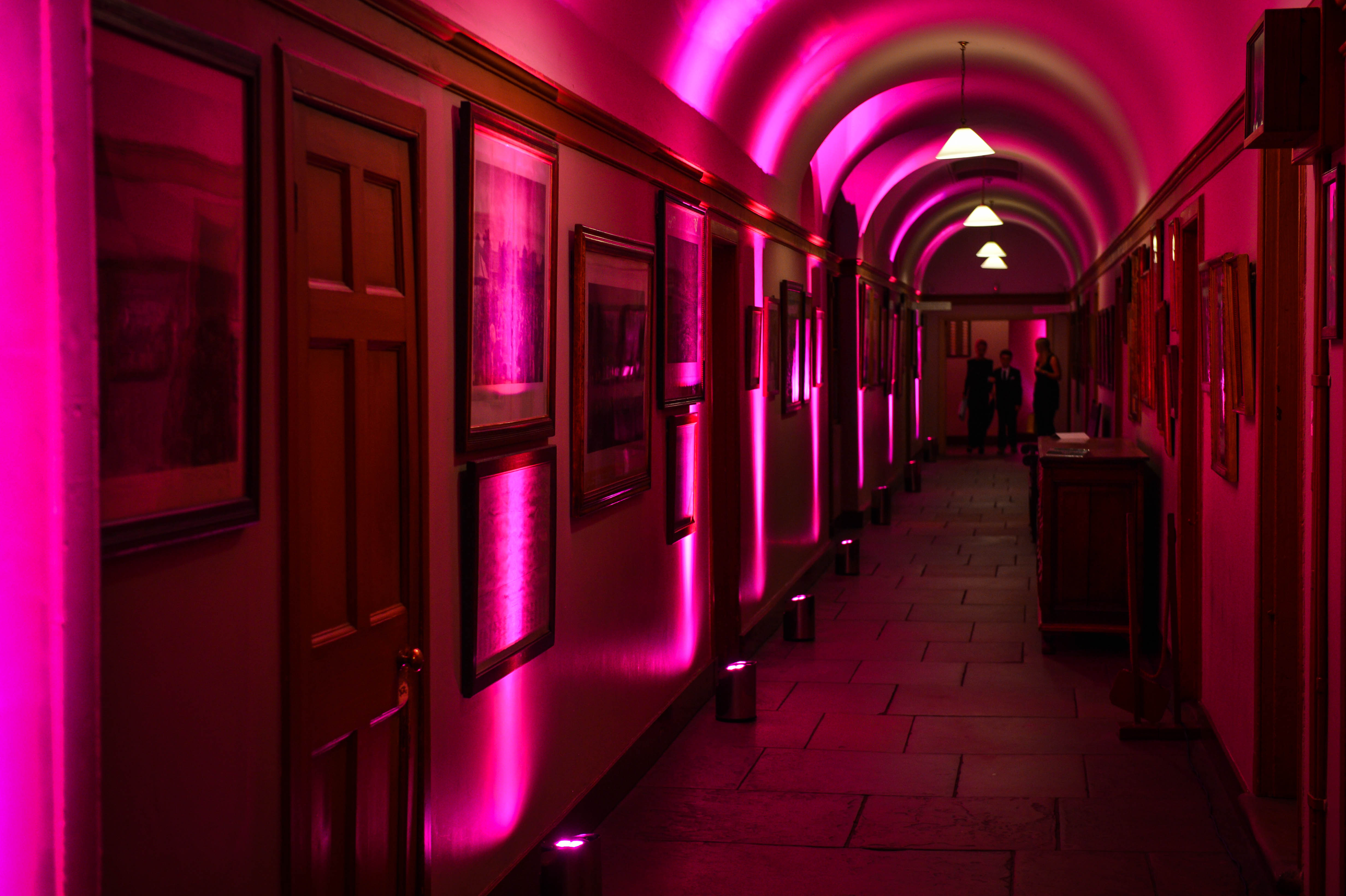 Credit: Luminate Events - Tatton Park ColourPoint Mini - CORE Lighting