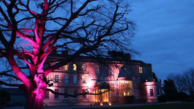 Elmort Court - Wedding - CORE Lighting