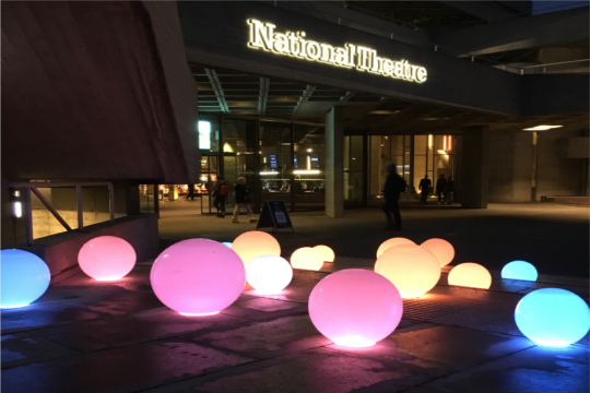 Battery Powered Globes - Credit: National Theatre