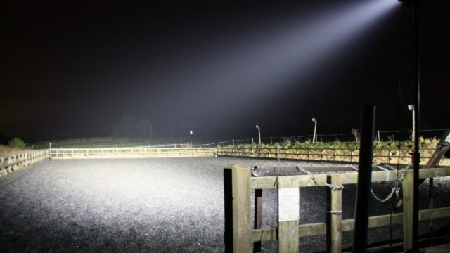 Battery Powered lights for Equestrian - FloodLight