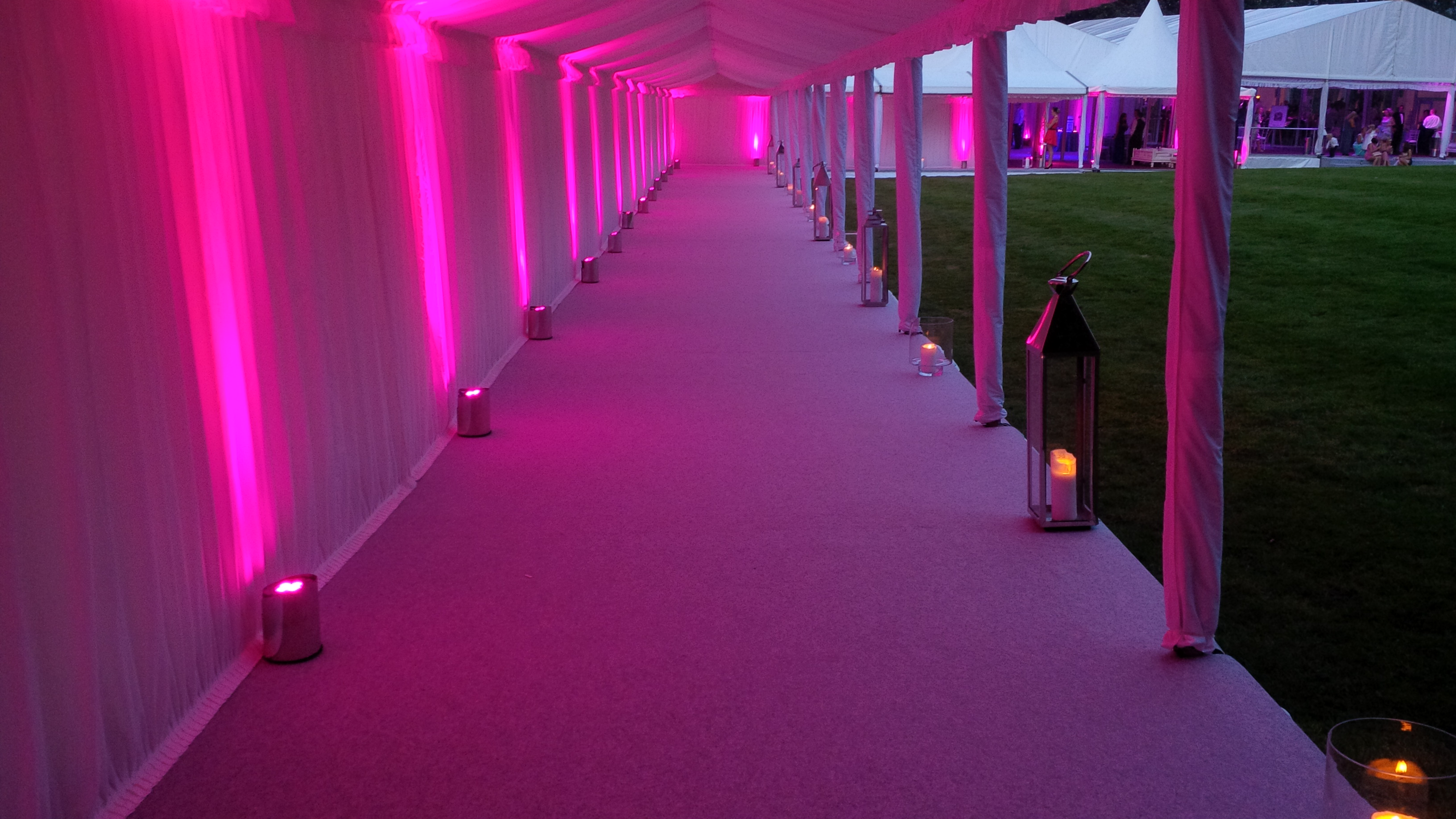 Credit: Luminate Events - Tattom Park - ColourPoint CORE Lighting