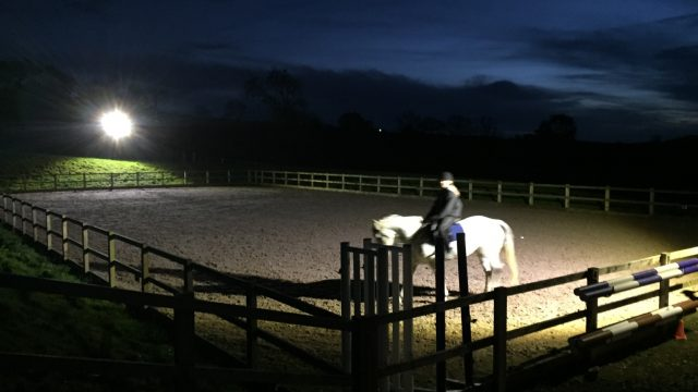 Battery Powered lighting for Equestrian - FloodLight