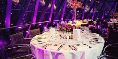 Battery Powered Hospitality dining lighting for hotels & restaurants