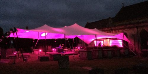 Outdoor Battery Powered Marquee Lighting - Core Lighting