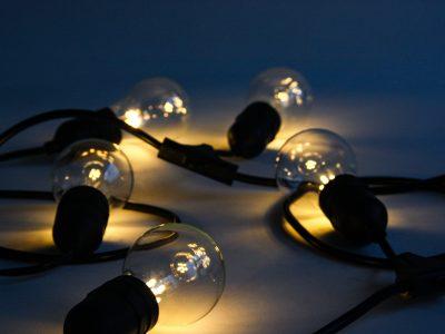 Battery Powered Art & Exhibition Lighting - Festoon Lights - Core Lighting